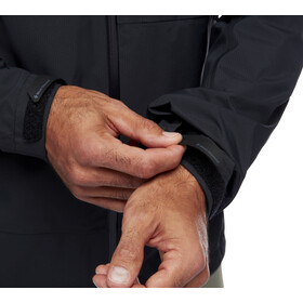 Black Diamond Highline Stretch Shell Jacket Men, negro